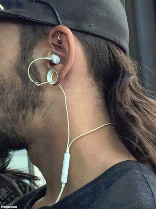 So That's What Those Are For! | MMMMMM | image tagged in meme,funny,lobe gauging,trends | made w/ Imgflip meme maker