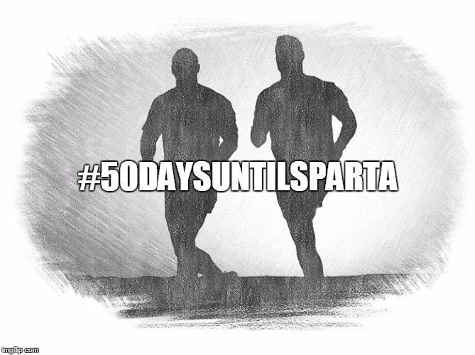 #50DAYSUNTILSPARTA | image tagged in spartan | made w/ Imgflip meme maker
