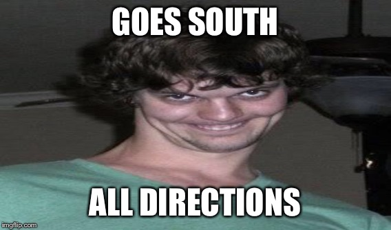 GOES SOUTH ALL DIRECTIONS | made w/ Imgflip meme maker