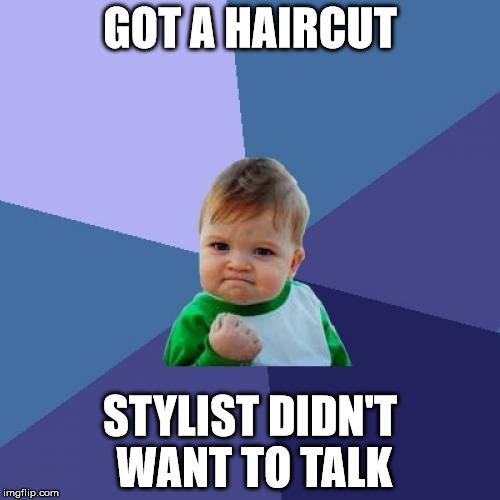 Received the best haircut ever today!