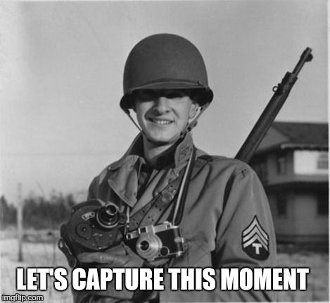 LET'S CAPTURE THIS MOMENT | made w/ Imgflip meme maker