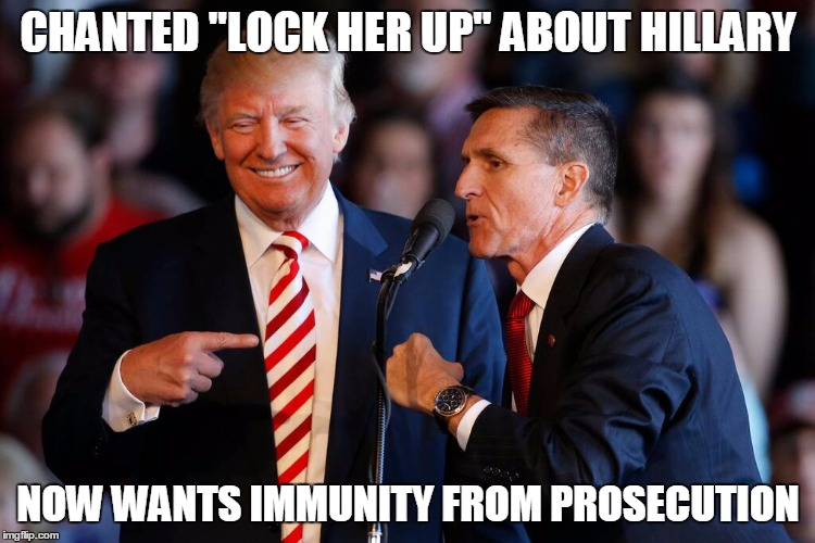 "That Guy | CHANTED ""LOCK HER UP"" ABOUT HILLARY NOW WANTS IMMUNITY FROM PROSECUTION 