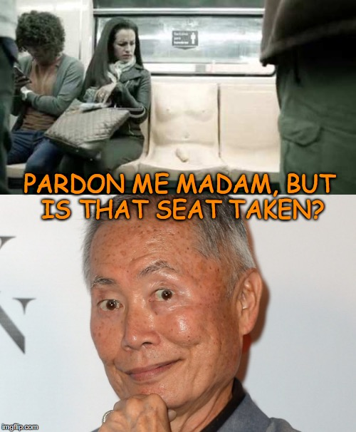 """Penis Seat"" on Mexico City Subway 