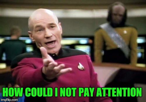 Picard Wtf Meme | HOW COULD I NOT PAY ATTENTION | image tagged in memes,picard wtf | made w/ Imgflip meme maker