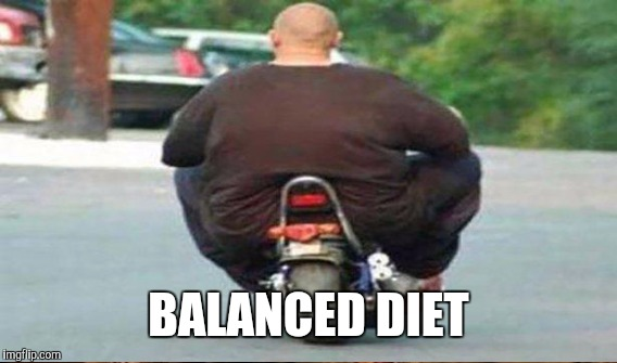 BALANCED DIET | made w/ Imgflip meme maker