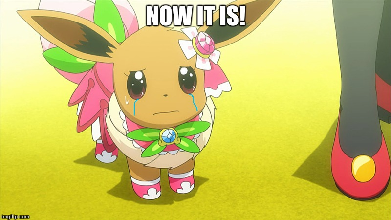 Hair Style Eevee: Look, A Crying Eevee For Pokemon Week