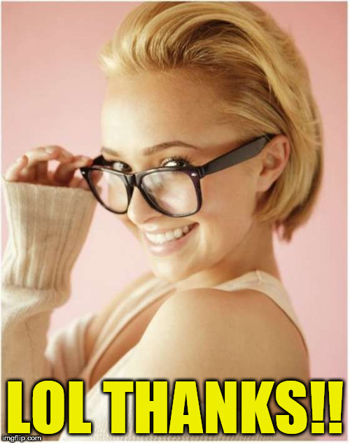 LOL THANKS!! | made w/ Imgflip meme maker