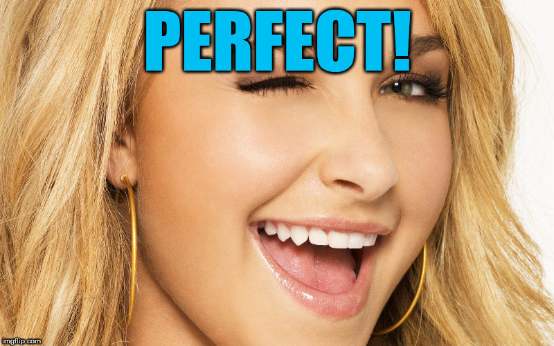 PERFECT! | made w/ Imgflip meme maker