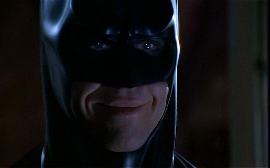 High Quality batman smile Blank Meme Template