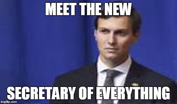 MEET THE NEW SECRETARY OF EVERYTHING | made w/ Imgflip meme maker