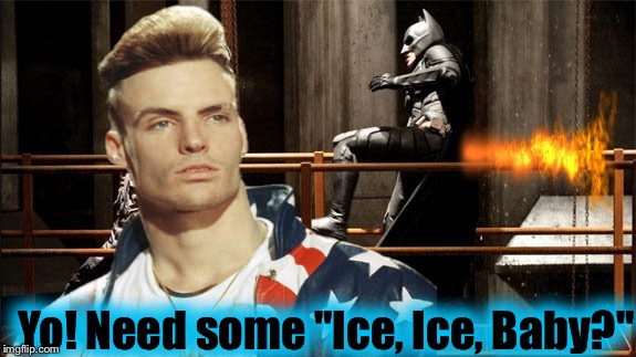 "Yo! Need some ""Ice, Ice, Baby?"" 