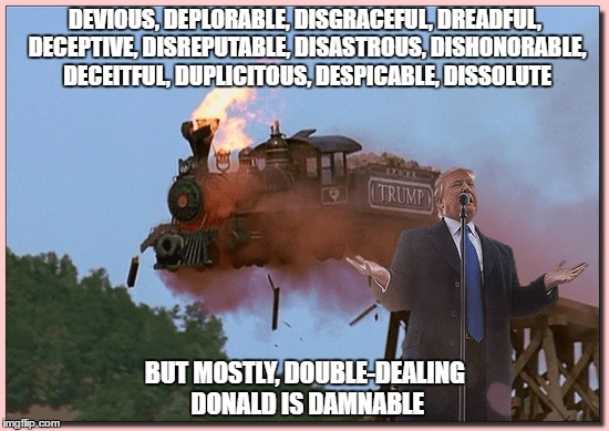 """Damnable Donald"" 