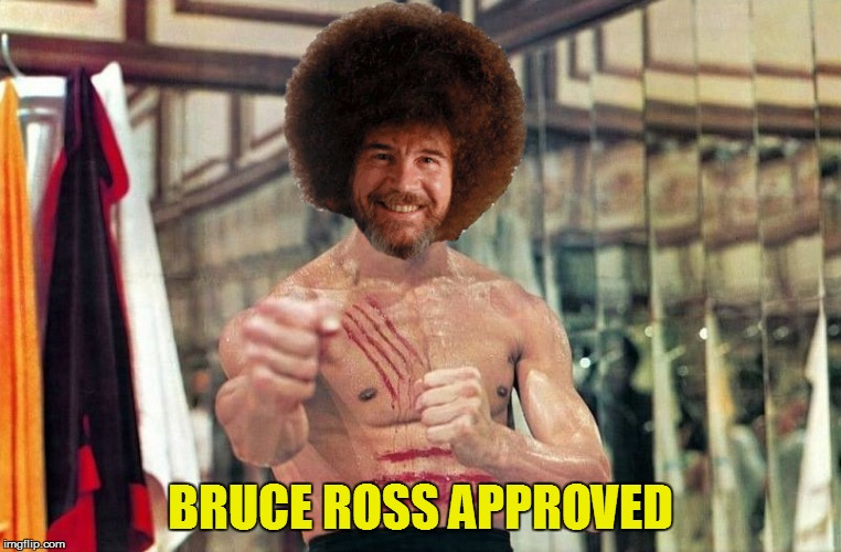 BRUCE ROSS APPROVED | made w/ Imgflip meme maker