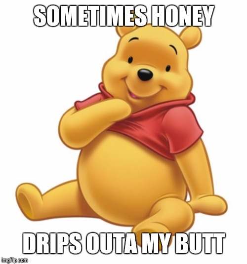 SOMETIMES HONEY DRIPS OUTA MY BUTT | made w/ Imgflip meme maker