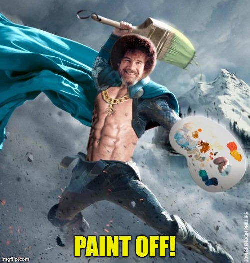 PAINT OFF! | made w/ Imgflip meme maker