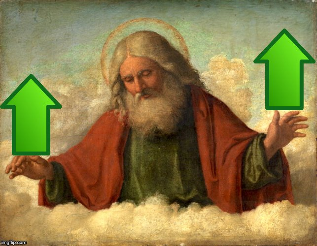 God in Clouds  | image tagged in god in clouds | made w/ Imgflip meme maker