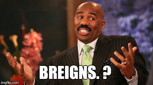 Steve Harvey Meme | BREIGNS. ? | image tagged in memes,steve harvey | made w/ Imgflip meme maker