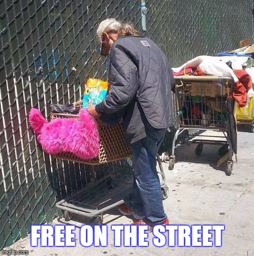 FREE ON THE STREET | made w/ Imgflip meme maker