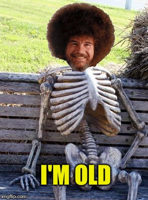 Waiting Skeleton Meme | I'M OLD | image tagged in memes,waiting skeleton | made w/ Imgflip meme maker