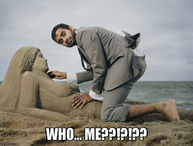 Sand castle... Wait, wtf? | WHO... ME??!?!?? | image tagged in sand castle wait,wtf | made w/ Imgflip meme maker