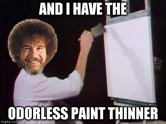 AND I HAVE THE ODORLESS PAINT THINNER | made w/ Imgflip meme maker