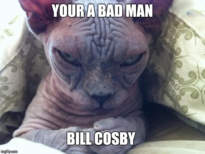 YOUR A BAD MAN BILL COSBY | made w/ Imgflip meme maker
