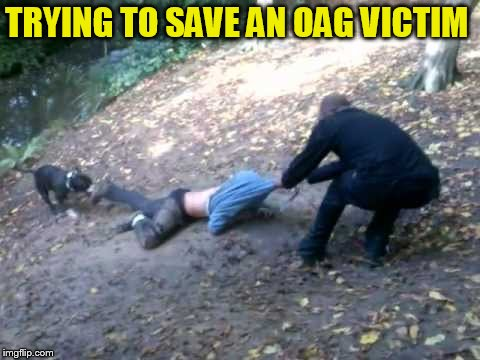 TRYING TO SAVE AN OAG VICTIM | made w/ Imgflip meme maker