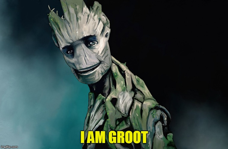 I AM GROOT | made w/ Imgflip meme maker