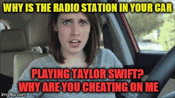 "Overly attached girlfriend ""borrowed"" your car 
