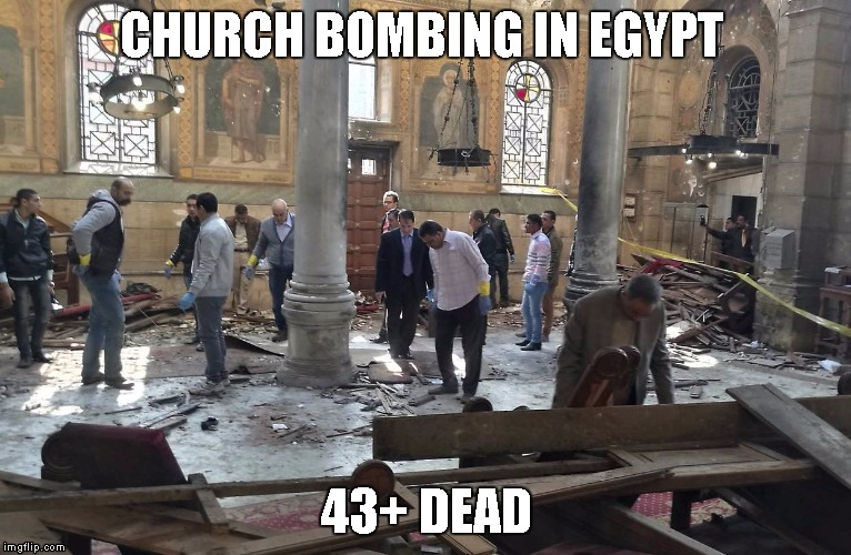 Remind me again, how Islam is a religion of Peace... | CHURCH BOMBING IN EGYPT 43+ DEAD | image tagged in one does not simply | made w/ Imgflip meme maker