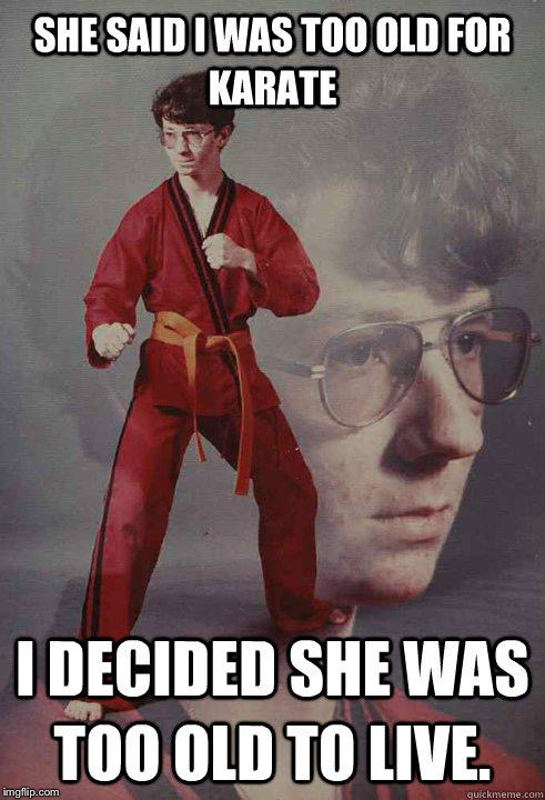 Karate Kyle | image tagged in acne,kyle | made w/ Imgflip meme maker