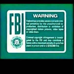 SpongeBob Night Light Blue FBI Warning Blank Template ...