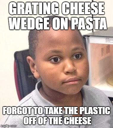 Completely ruined a batch of pasta