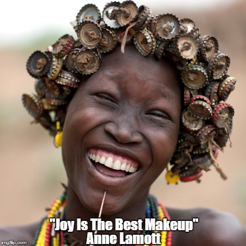 "Anne Lamott: ""Joy Is The Best Makeup""  