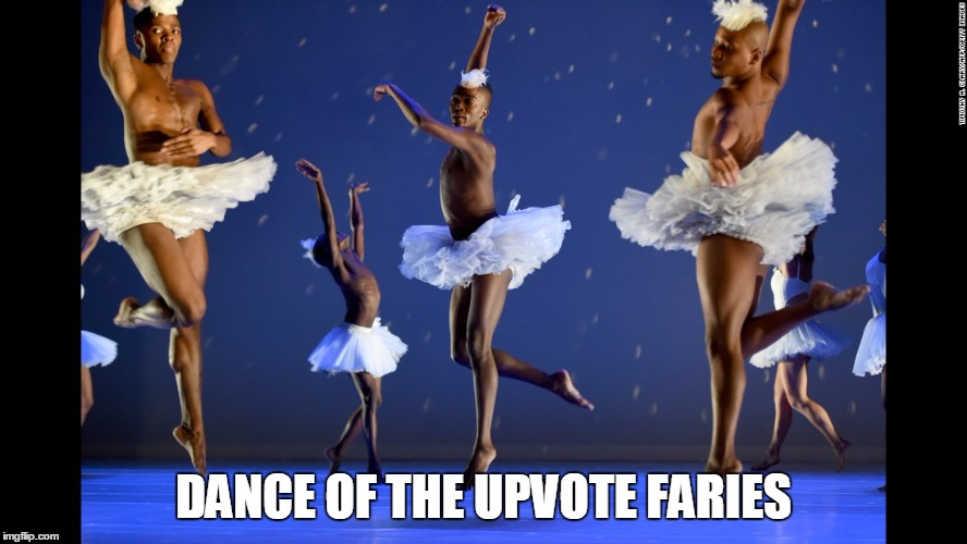 Upvote Faries | DANCE OF THE UPVOTE FARIES | image tagged in swan lake | made w/ Imgflip meme maker