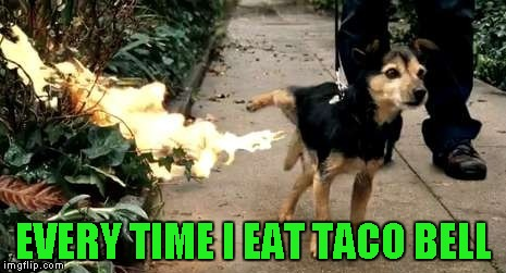 EVERY TIME I EAT TACO BELL | made w/ Imgflip meme maker