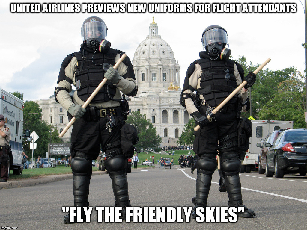 "united airlines | UNITED AIRLINES PREVIEWS NEW UNIFORMS FOR FLIGHT ATTENDANTS ""FLY THE FRIENDLY SKIES"" 