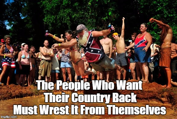 """The People Who Want America Back Must Wrest It From Themselves"" 