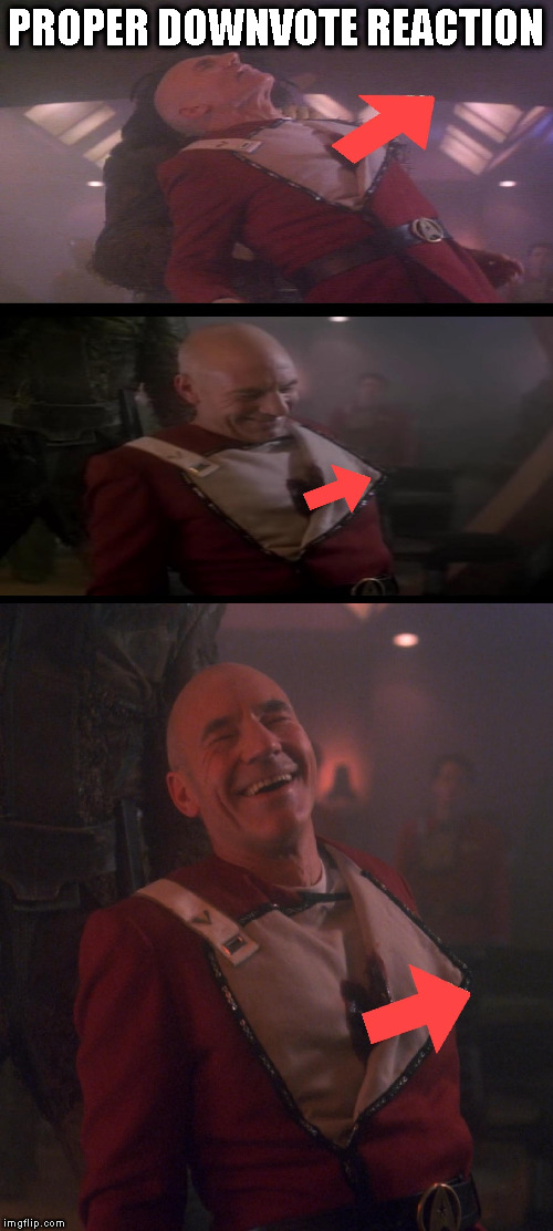 Picard makes it look easy though | PROPER DOWNVOTE REACTION | image tagged in memes,picard,downvote reaction | made w/ Imgflip meme maker