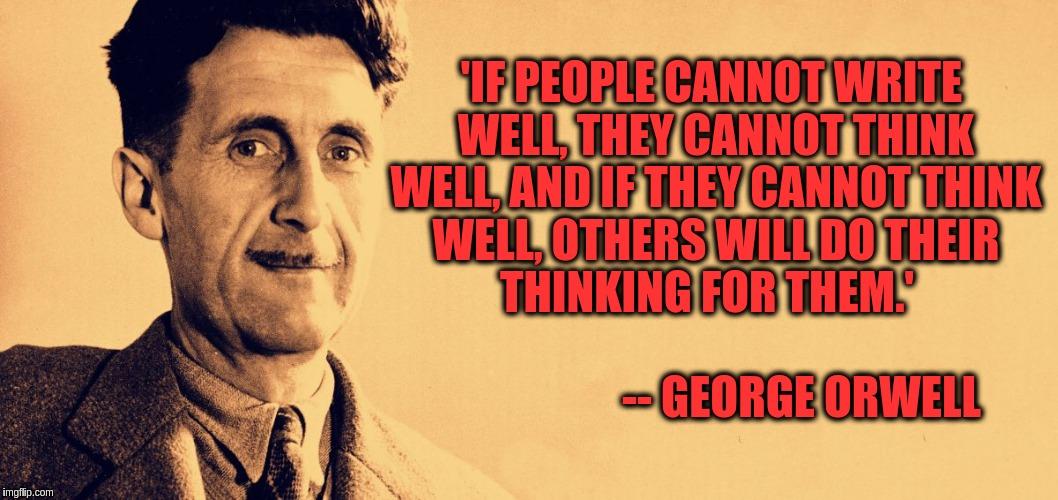 Αποτέλεσμα εικόνας για george orwell