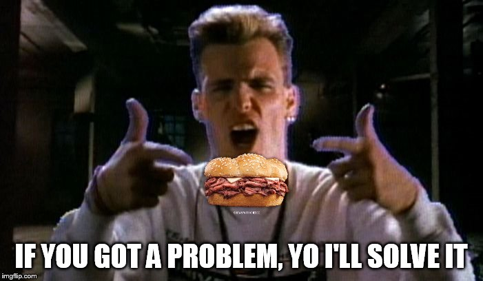IF YOU GOT A PROBLEM, YO I'LL SOLVE IT | image tagged in vanilla problem | made w/ Imgflip meme maker
