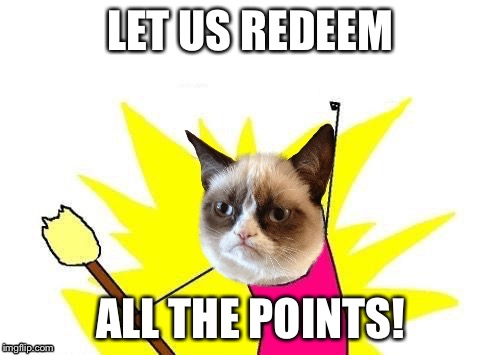 LET US REDEEM ALL THE POINTS! | made w/ Imgflip meme maker