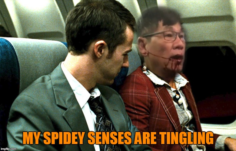 MY SPIDEY SENSES ARE TINGLING | made w/ Imgflip meme maker