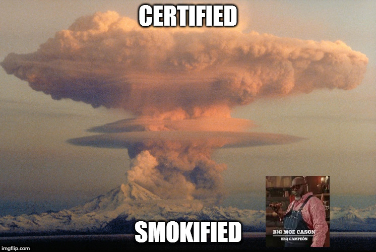 CERTIFIED SMOKIFIED | image tagged in baboom | made w/ Imgflip meme maker
