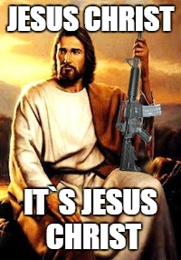 JESUS CHRIST IT`S JESUS CHRIST | image tagged in jesus | made w/ Imgflip meme maker