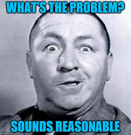 WHAT'S THE PROBLEM? SOUNDS REASONABLE | made w/ Imgflip meme maker