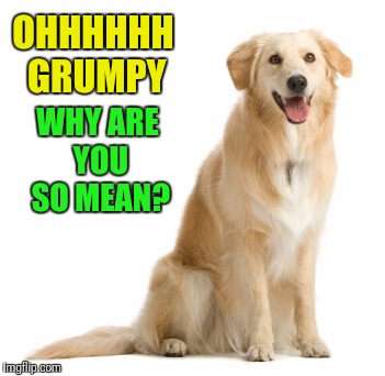OHHHHHH GRUMPY WHY ARE YOU SO MEAN? | made w/ Imgflip meme maker