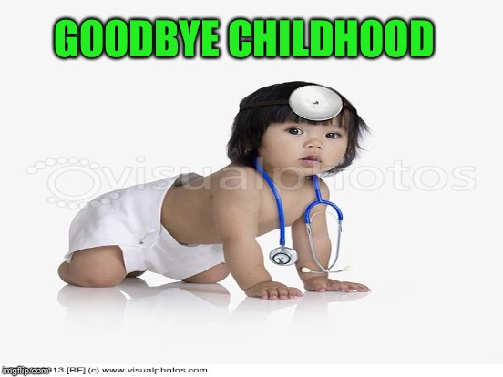 GOODBYE CHILDHOOD | made w/ Imgflip meme maker