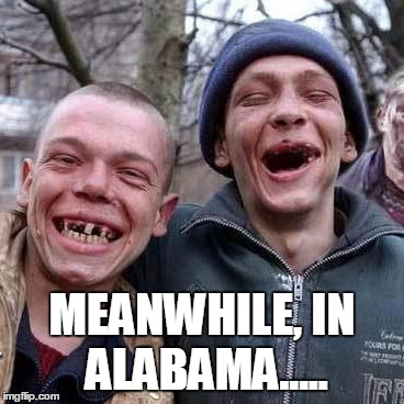 MEANWHILE, IN ALABAMA..... | made w/ Imgflip meme maker
