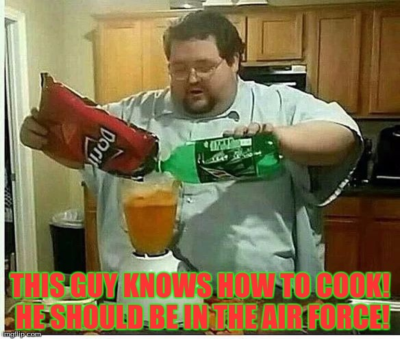 Drinking and Cooking Meme